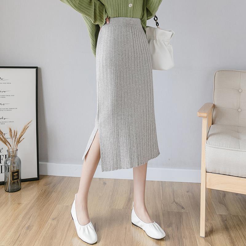 Chân váy chữ A lưng cao phong cách Hàn Quốc thời trang cho nữ