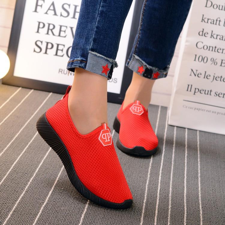 Giày thời trang nữ mới (qp màu đỏ) MS7 (1380)