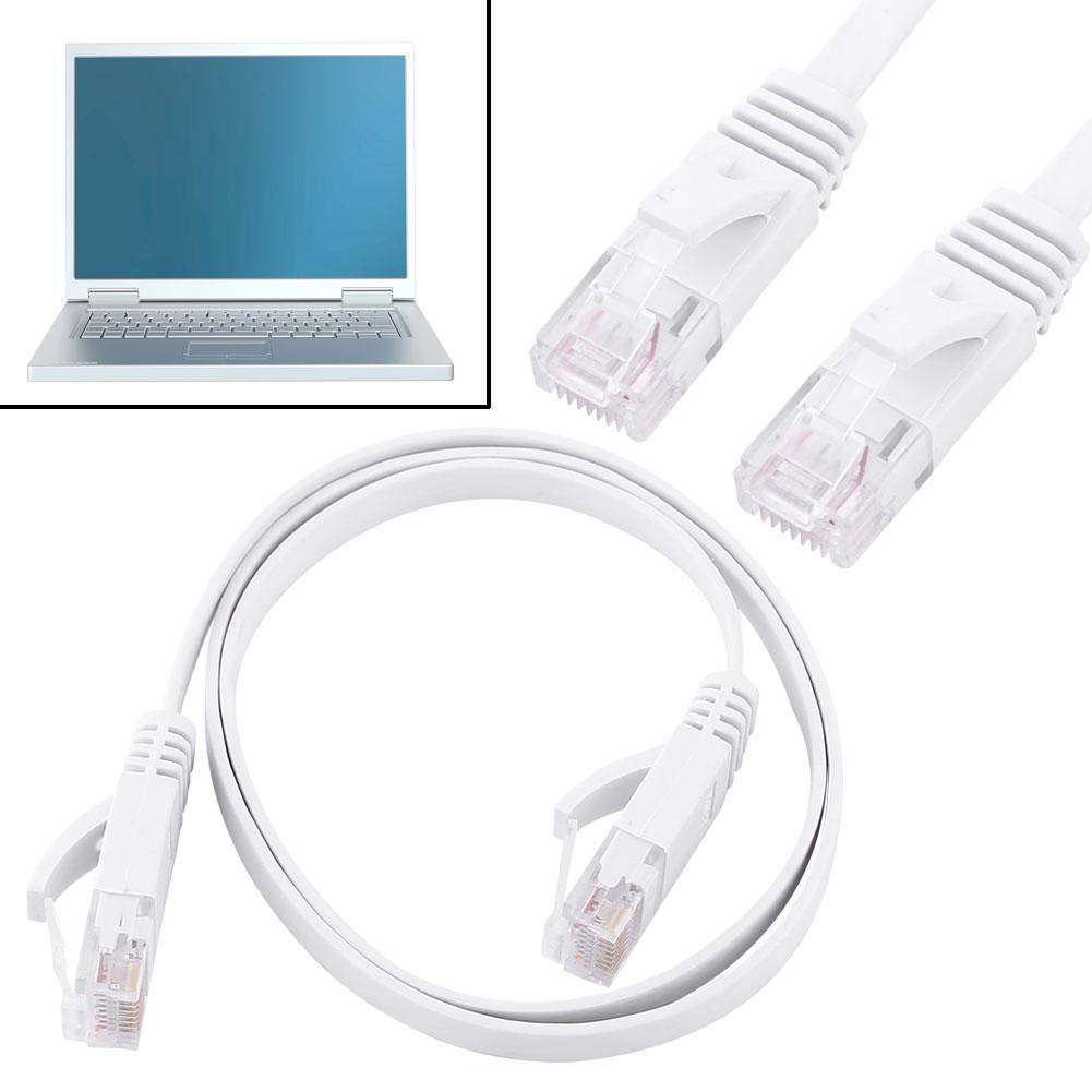 CAT6 Ethernet Network Flat LAN Cable UTP Patch Router C