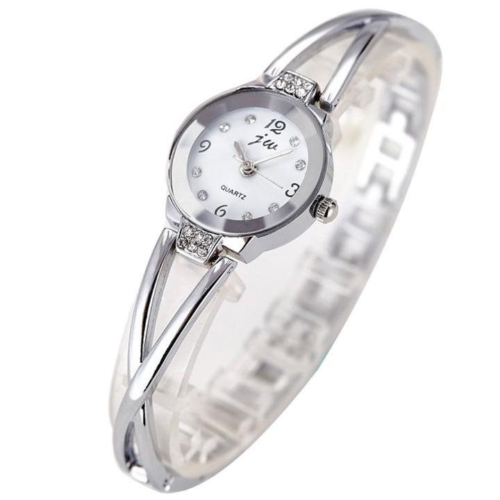 [Mã WTCHJAN giảm 20K ] Đồng hồ nữ JW dây kim loại gọng xoắn SP094