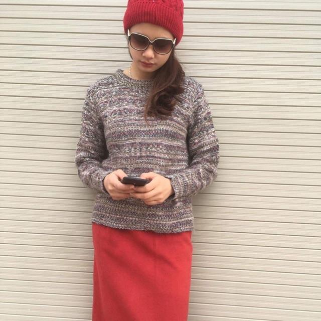 Áo len dáng dài