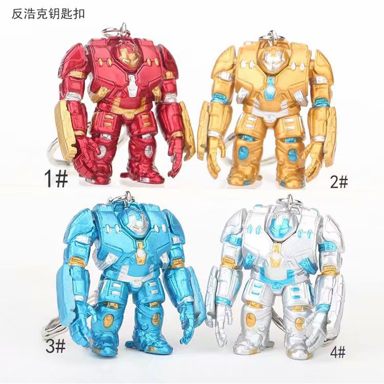 Avengers 3 Model Iron Man Anti-Hulk Armored Machine Keychain Túi quà tặng handmade