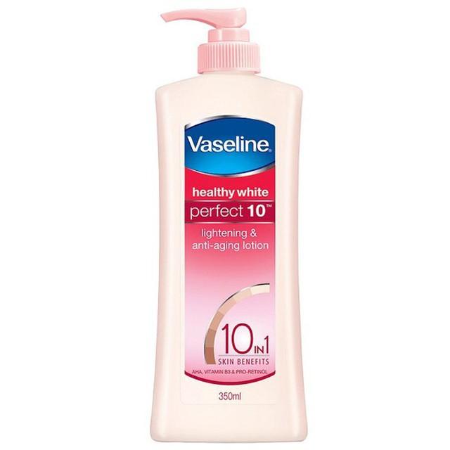 Sữa dưỡng thể trắng da toàn diện Vaseline 10 trong 1 350ML (MSP 67251305)