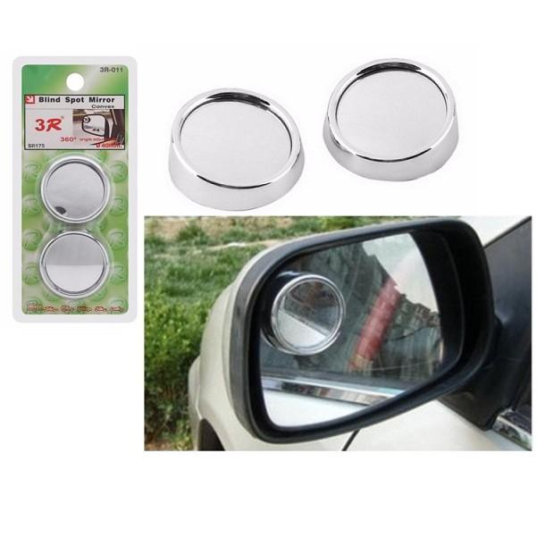 Bộ 2 chiếc gương phụ cầu lồi gắn gương chiếu hậu ô tô 4 - 5 chỗ cao cấp