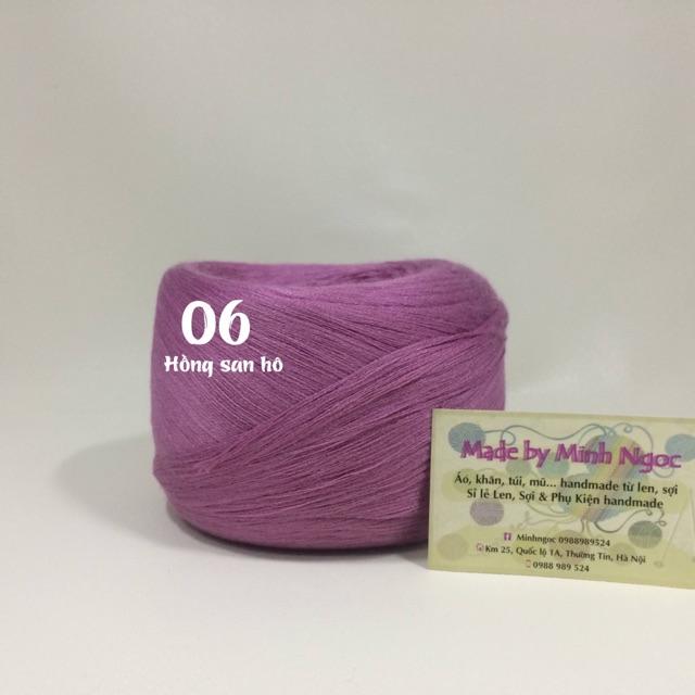 Set nguyên liệu đan móc 355k-lavenderngoc