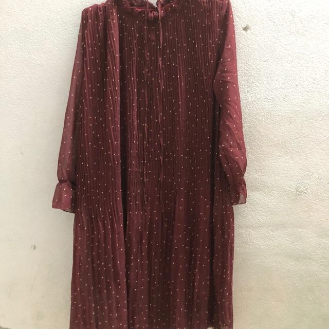 đầm bi đỏ bigsizze
