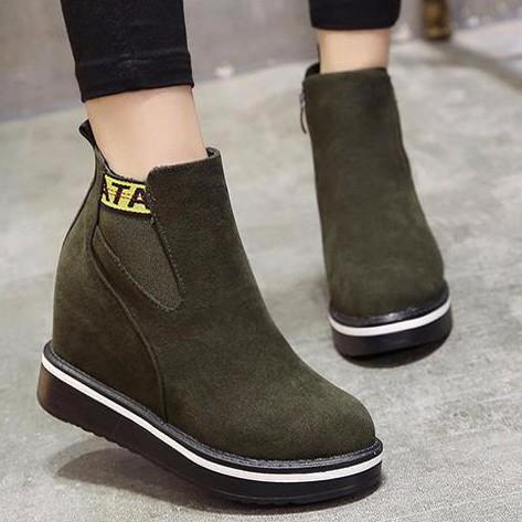 Giày Boot nữ thời trang B094X