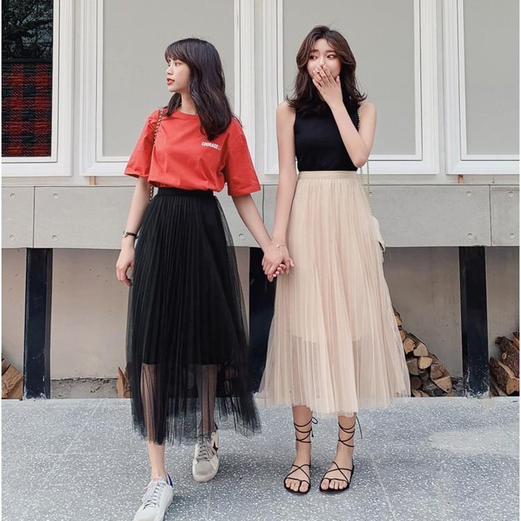 Chân Váy Lưới chân váy xòe Tutu thời trang cho bạn nữ