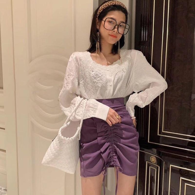 Chân Váy Chữ A Phong Cách Hàn Quốc Dành Cho Nữ