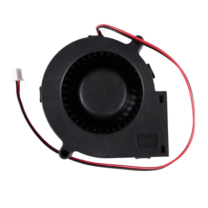 Hình ảnh 75mm x 30mm DC 12V 0.36A 2Pin Computer PC Blower Cooling Fan