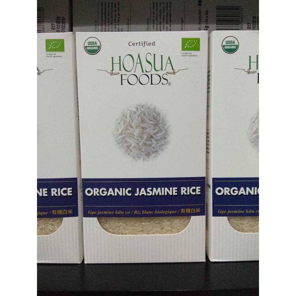 Gạo trắng hữu cơ Hoa Sữa hộp 1kg