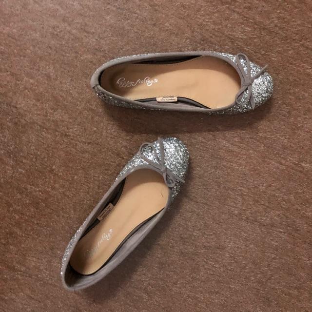 [Thanh lí] Giày búp bê kim tuyến 90%