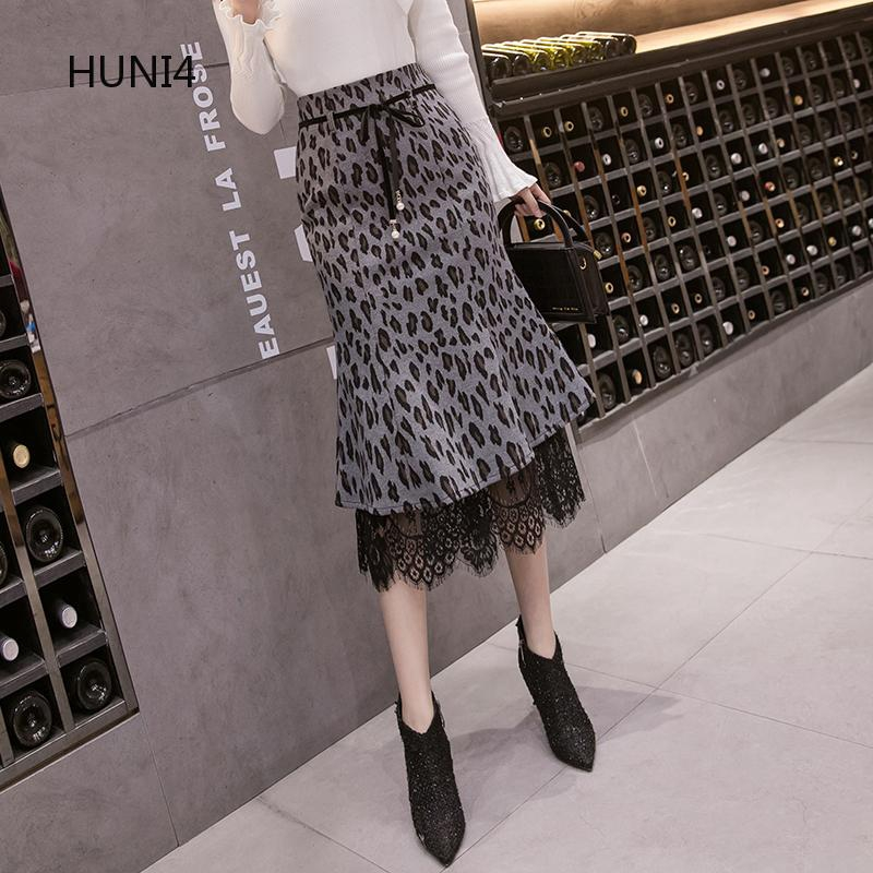 Chân váy xòe lưng cao phong cách Hàn Quốc thanh lịch dành cho nữ