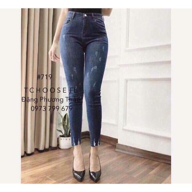 Combo quần jean + áo thun