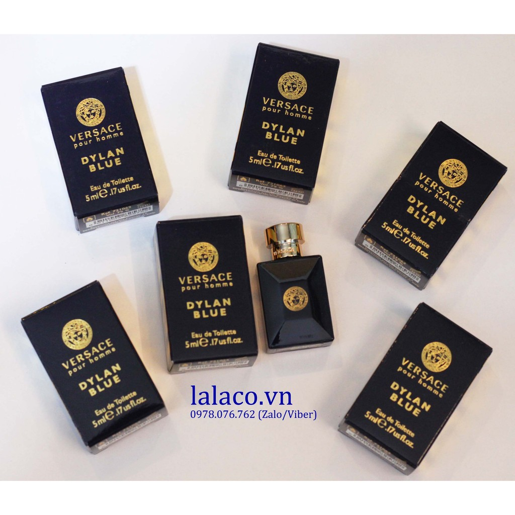 Nước hoa mini Versace Dylan Blue 5ml