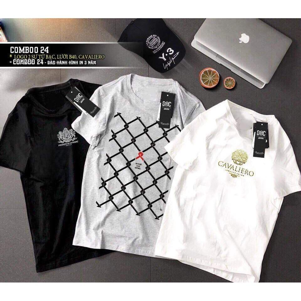 3 áo thun big size cotton giá rẻ in hình đẹp CD17