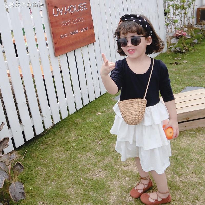 Chân Váy Cotton Nhiều Tầng Kiểu Hàn Quốc Xinh Xắn Cho Bé Gái
