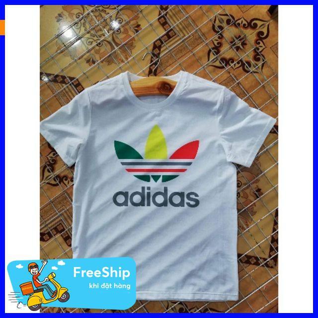 [ Hàng Xịn ] Áo adidas ngủ sắc thiết kế áo thun đi chơi,áo thun mùa hè,chất liệu thoáng mát,áo thun phong cách