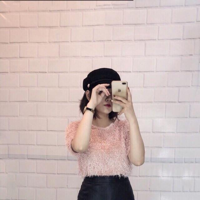 [Việt Mode]Áo len lông sợi nổi siêu sang chảnh