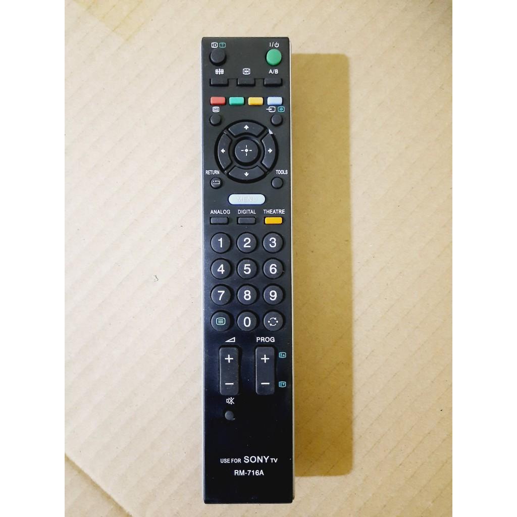 Điều khiển Tivi Sony RM-716A LCD/LED SMART TV OLED- Hàng tốt 100% Tặng kèm Pin