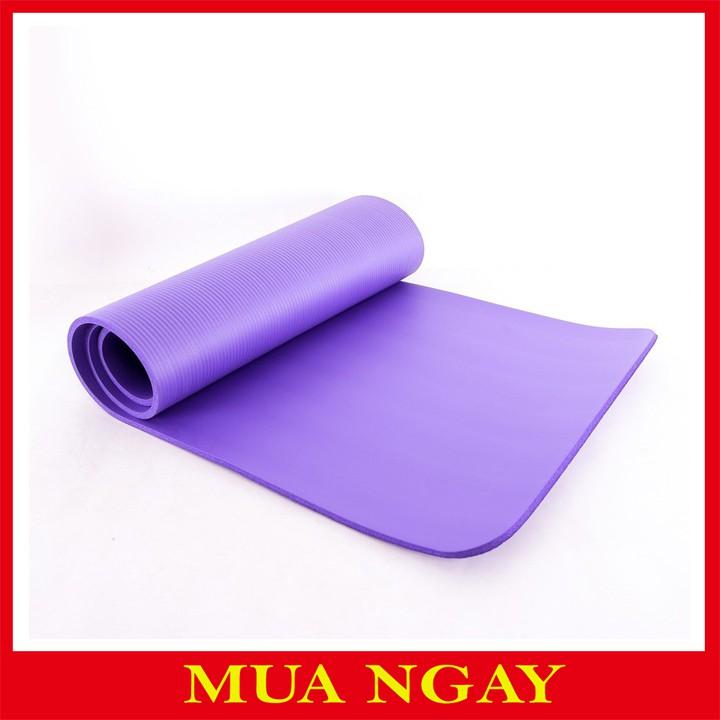 Thảm Yoga Siêu Dày 10mm Dặn Loại Hot Nhất T10