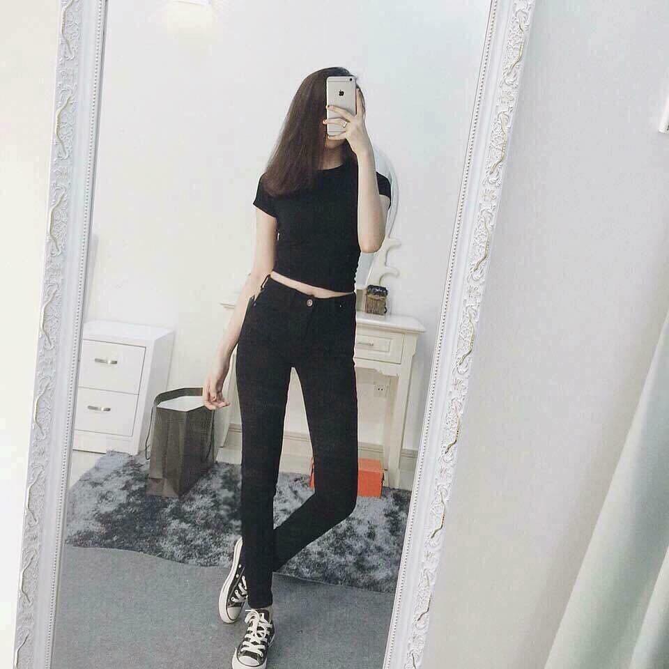 [Sale Sale] Quần jean nữ HM cạp cao tôn dáng cực kỳ/quần nữ,jean cạp cao,quần nữ cao cấp,jean VNXK
