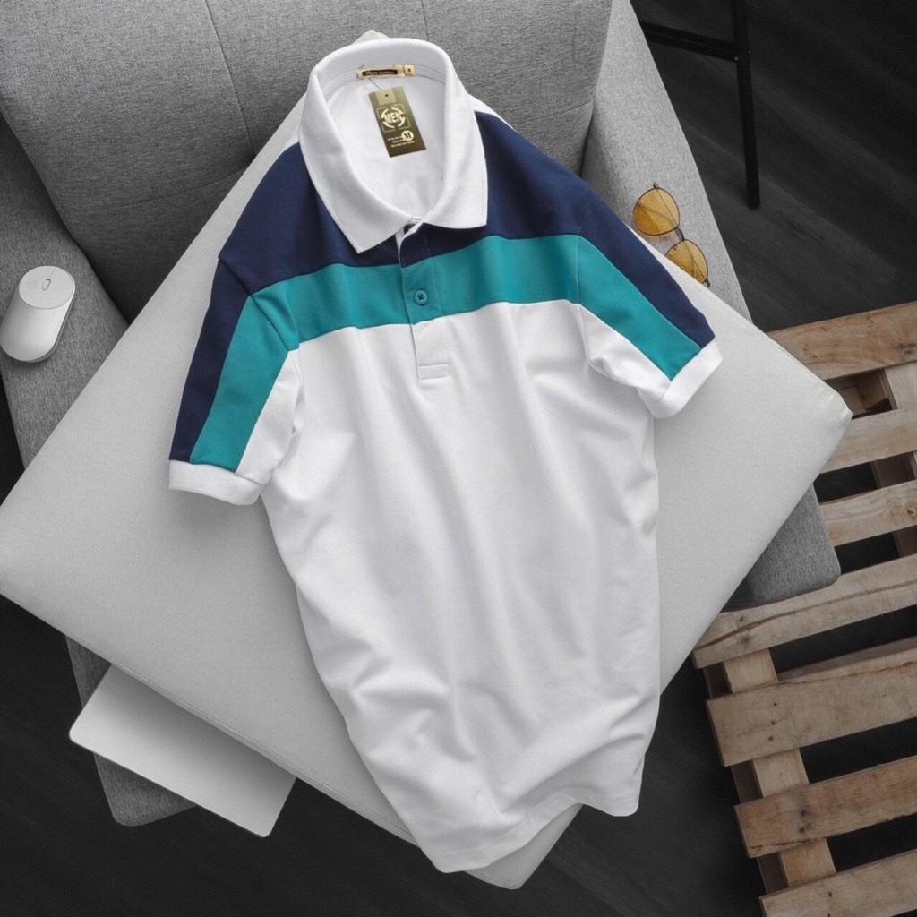 ⚡️ Hàng VNXK ⚡️ - áo Thun Nam cổ Bẻ tay ngắn Thun Cotton Cá Sấu Thiết kế cổ điển