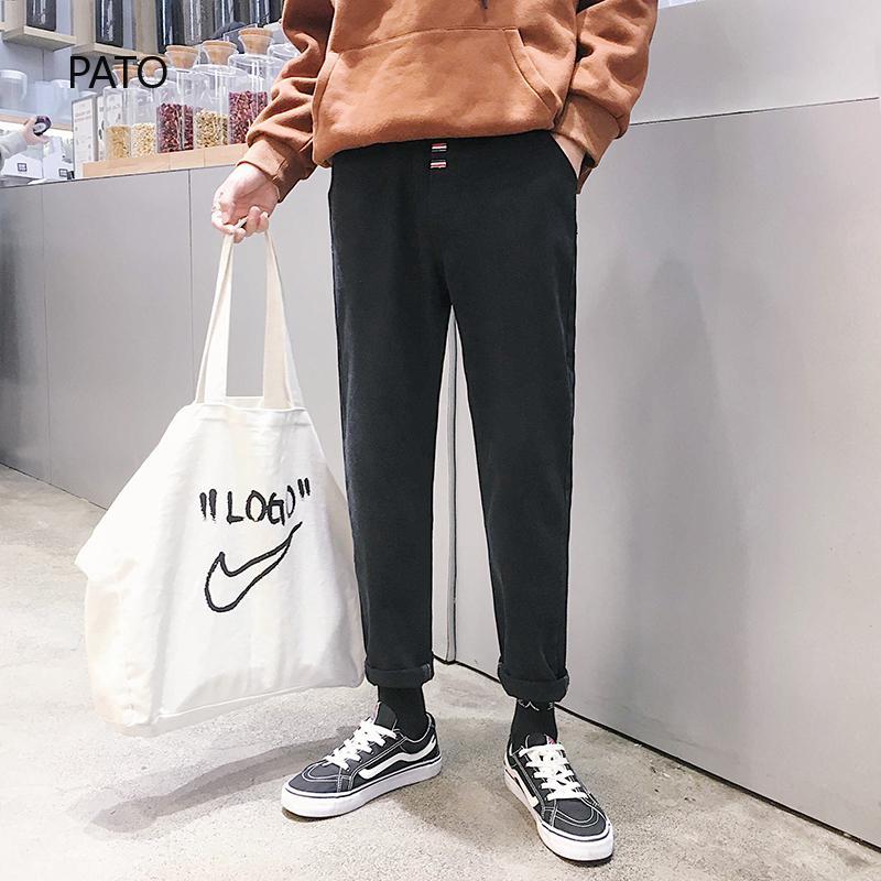 Quần jeans lưng cao thời trang nam năng động trẻ trung