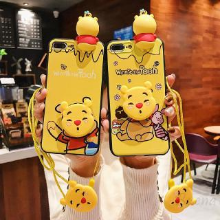 COD Oppo Soft Bag Cartoon Bear A83 A57 A3 R9s A5 R9sp Protection Mobile Phone Three-piece 190