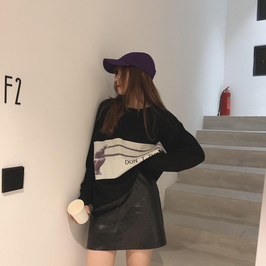 Chân Váy Da Lưng Cao Thời Trang Hàn Quốc Cho Nữ