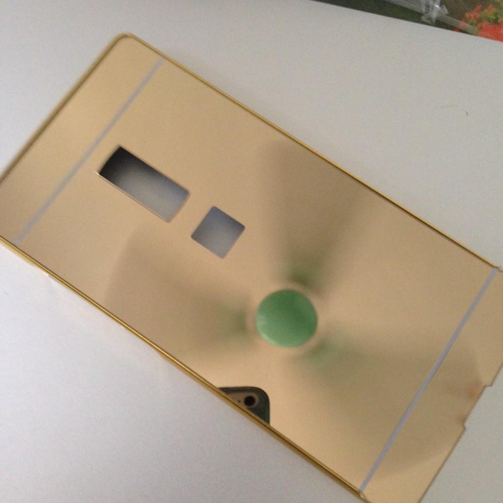 Oneplus 2 – Ốp lưng điện thoại tráng gương viền kim loại