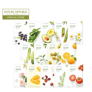 Mặt nạ dưỡng da NATURE REPUBLIC Real Nature Mask Sheet 23ml