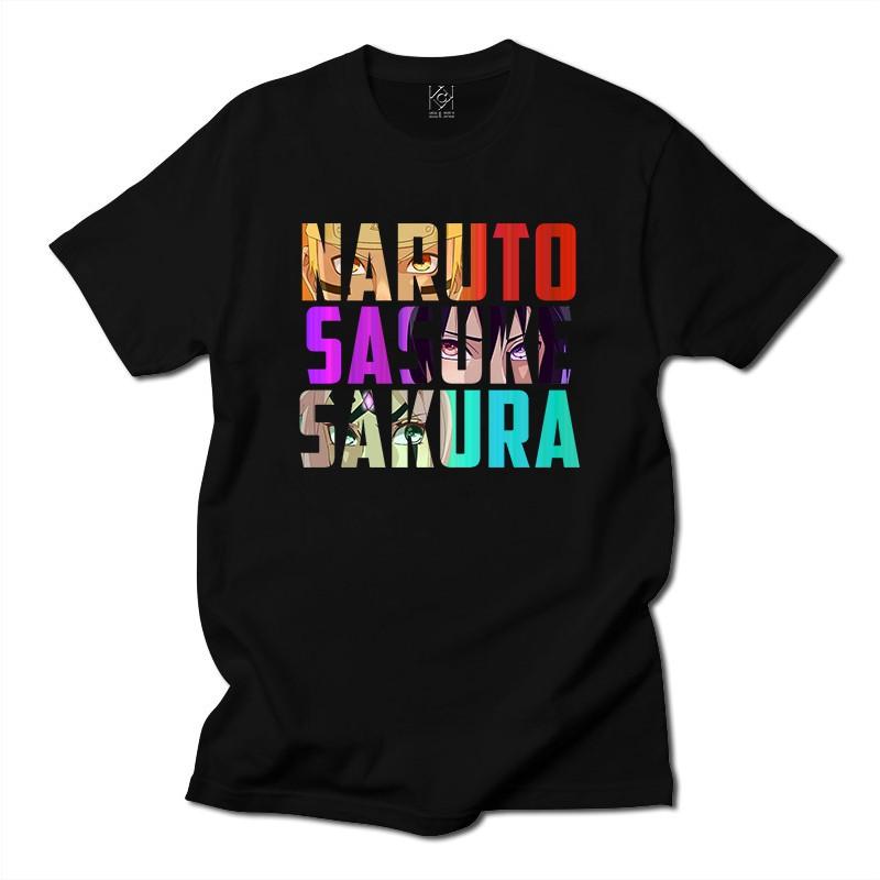 Áo thun movie hoạt hình naruto in hình naruto - sakura cực đẹp ,áo thun unisex nam nữ - Thiết kế độc quyền KAK