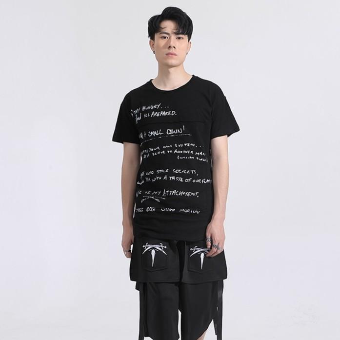 Áo thun chất vải cotton mát mịn,áo thun in chữ fom cực chuẩn kiểu áo độc đáo lạ mang đến phong cách mới -AT1625-Đen
