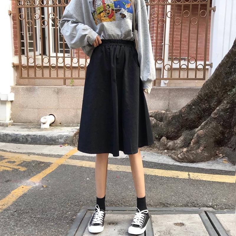 Chân Váy Dài Kiểu Dáng Đơn Giản Dễ Thương Cho Nữ