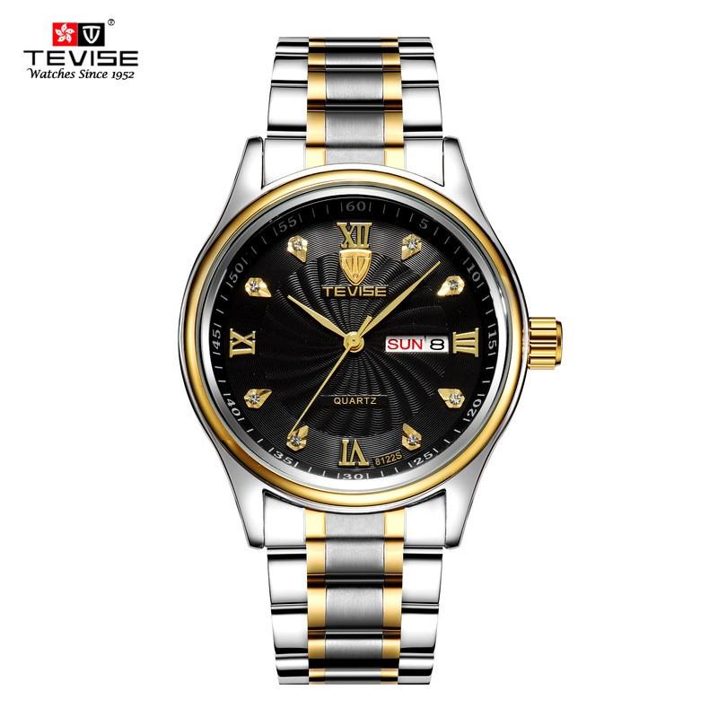 Đồng hồ nam TEVISE kính tráng sapphire cao cấp quý phái sang trọng phong cách doanh nhân 8122Q