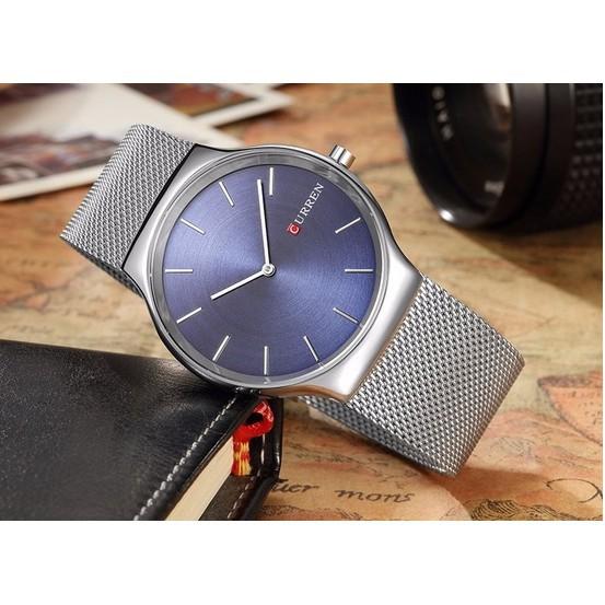 Đồng hồ nam Curren dây xích mành đẳng cấp phái mạnh
