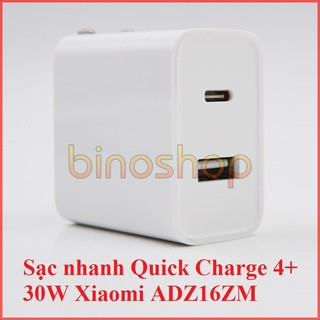 Sạc nhanh Quick Charge 4.0 Xiaomi AD16ZM