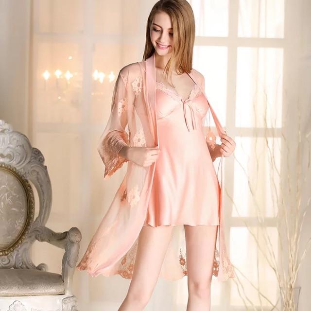 Váy ngủ ren cao cấp SD68:3