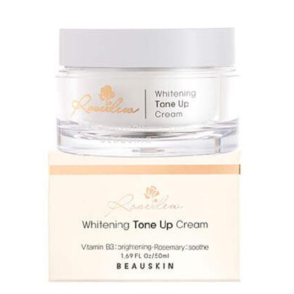 Kem dưỡng trắng da nâng tone Beauskin Rosedew Whitening Tone Up Cream Hàn Quốc 50ml