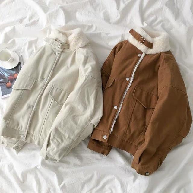 ❤️ Order áo khoác lót lông ulzzang Quảng châu (ảnh thật cuối)