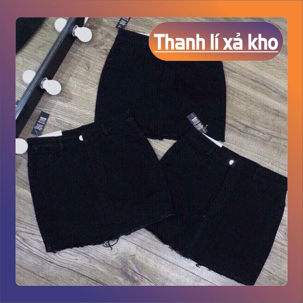 12C15B1 Chân váy ngắn kaki trơn basic vải dày đẹp, đủ size S M L