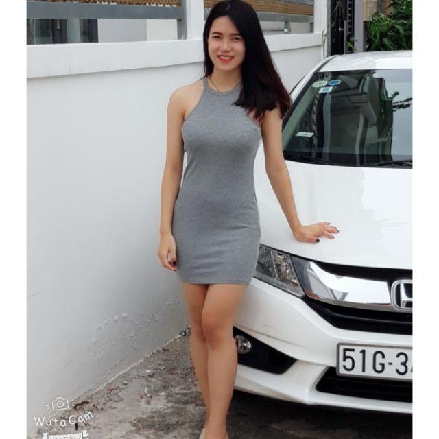 Đầm yếm F21, hàng xuất xịn