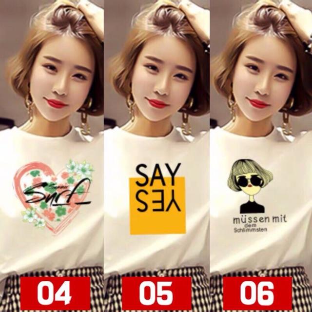 set 3 áo phông ( )