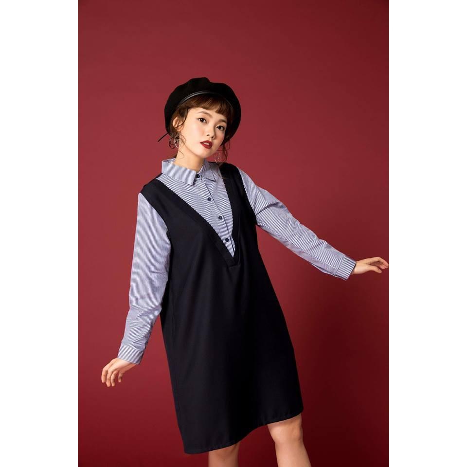Đầm Somi Tay sọc - HNT D11 - Dress