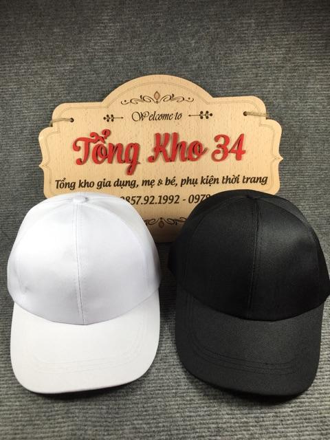 Mũ lưỡi trai trơn đủ màu hàng Việt Nam cực đẹp
