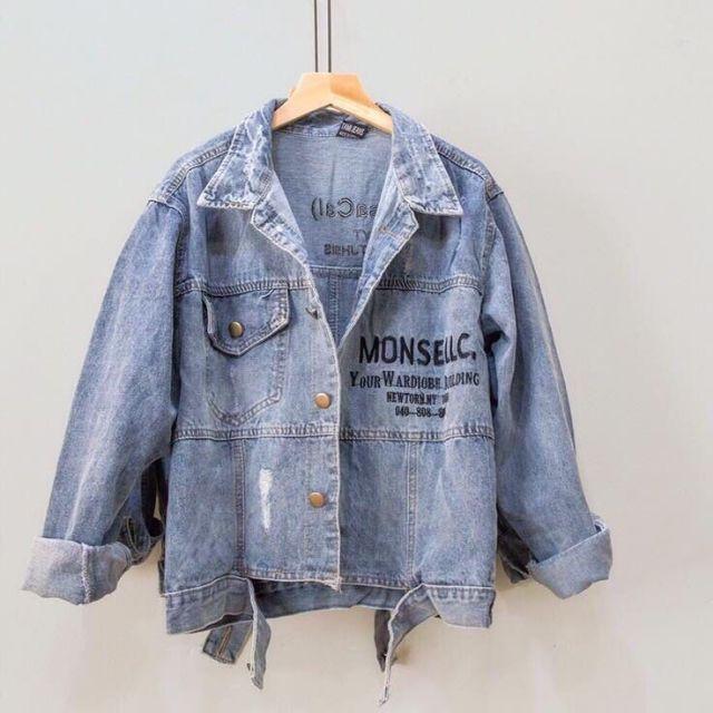 Áo khoác jean nữ đẹp_ hàng xịn bán shop