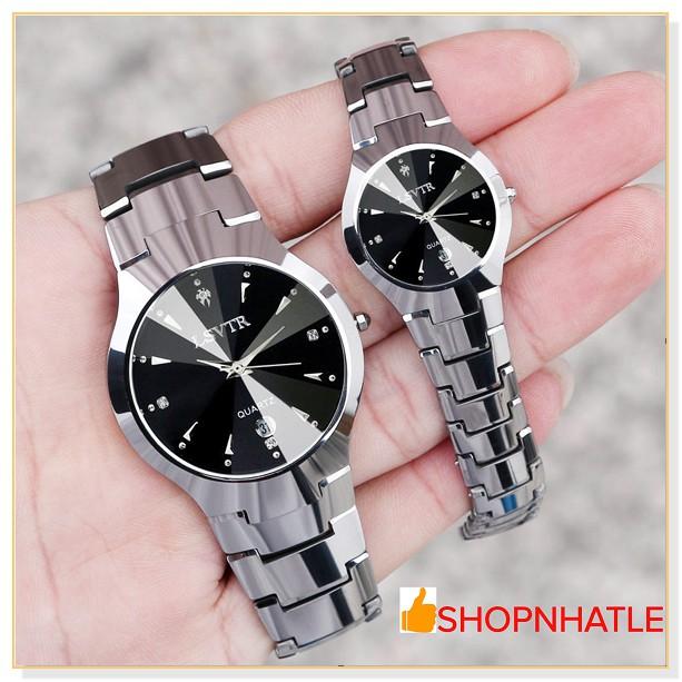 [Mã WTCHJAN giảm 20K ] Đồng hồ nam nữ chính hãng LSVTR 9193