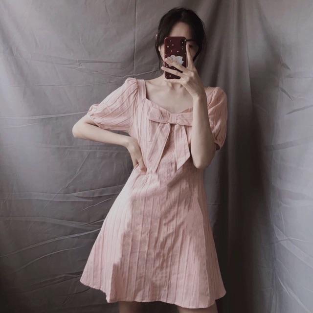 Đầm xô quảng châu hồng ngọt ngào