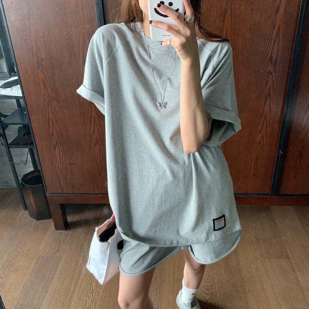 [GR126] Set trang phục quần áo thun xuân hạ áo phông (EAL)